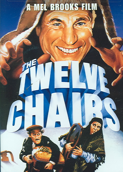 TWELVE CHAIRS BY BROOKS,MEL (DVD)